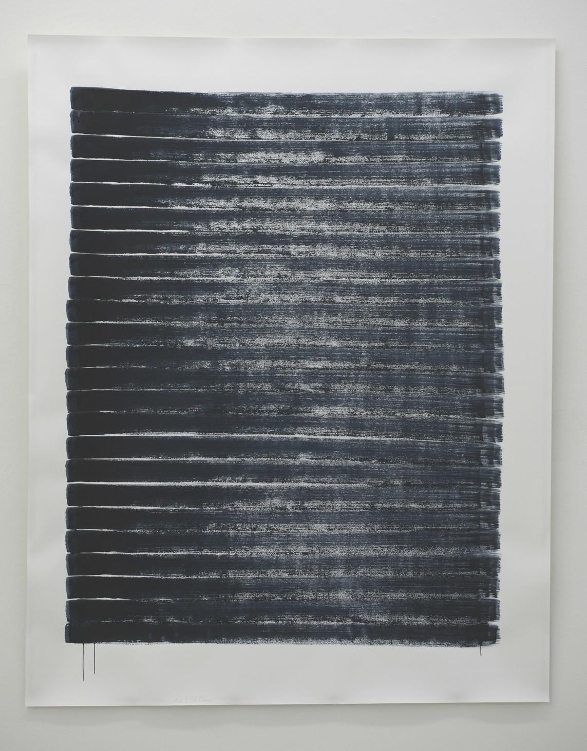 o.T. (12.3.17), Aquarell auf Papier, 2017, 193 x 152 cm