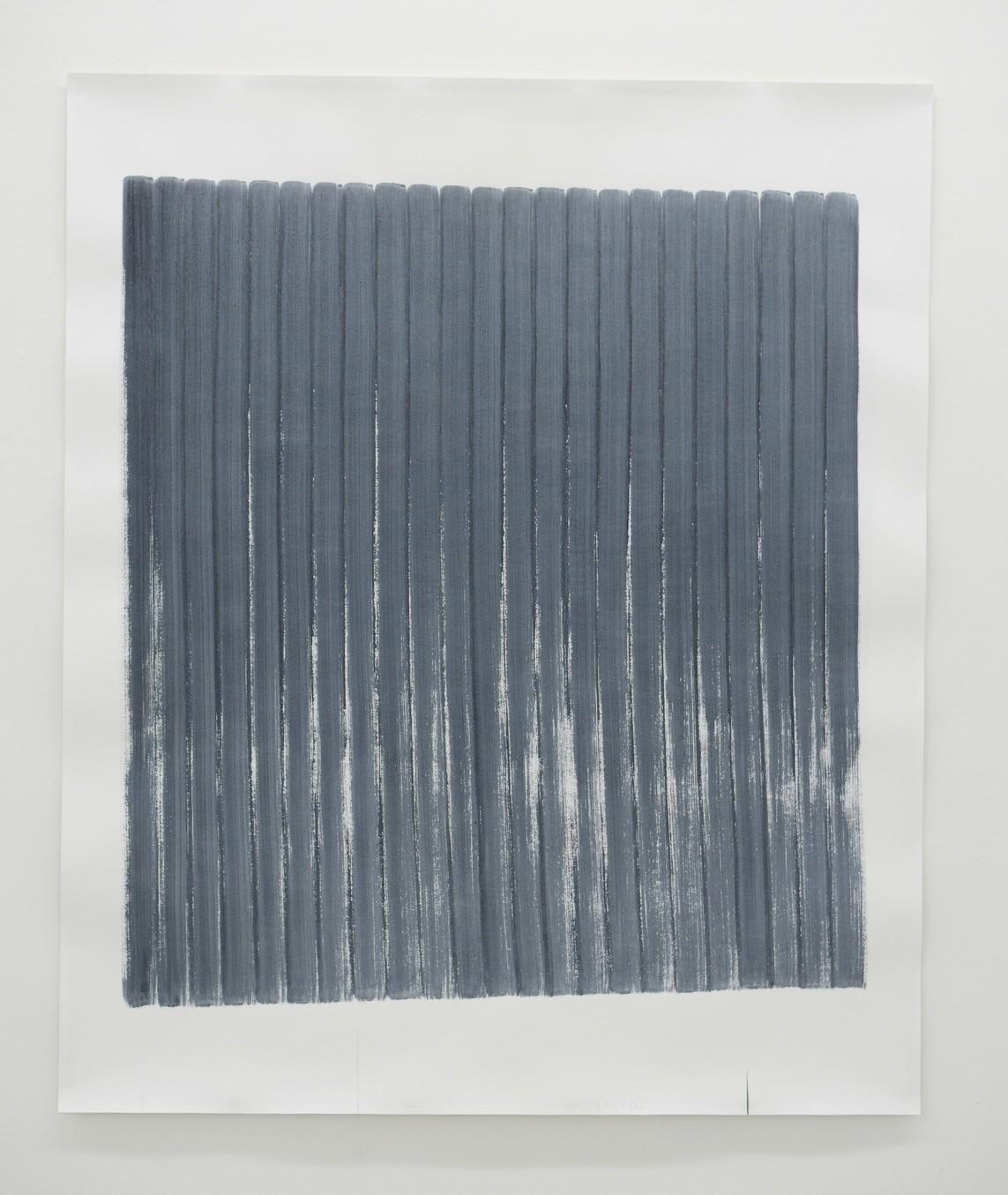 o.T. (29.8.17), Aquarell auf Papier, 2017, 182 x 152 cm
