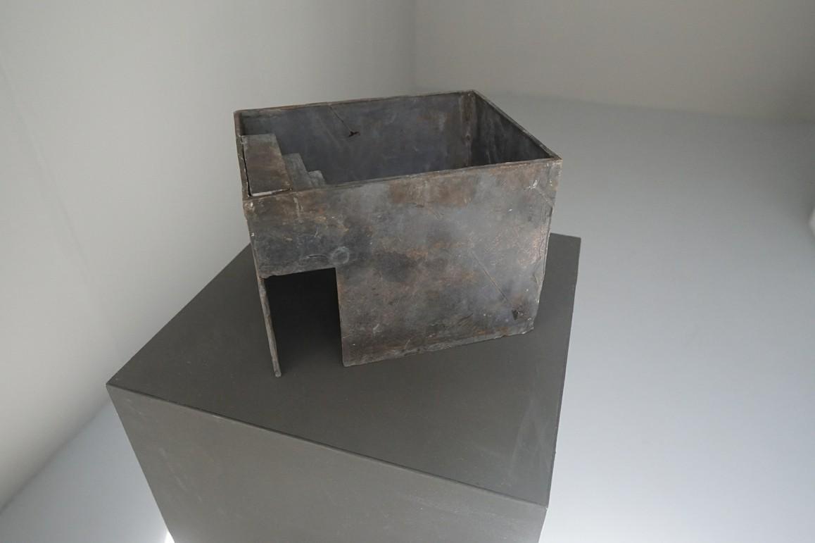 Jochen Damian Fischer / Treppe, 2017, Bronze, Unikat, 22 x 17 x 15 cm