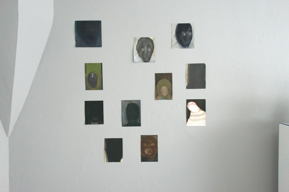 Petra Blocksdorf, o.T. 2012 – 2019, Mischtechnik auf Papier, diverse Größen