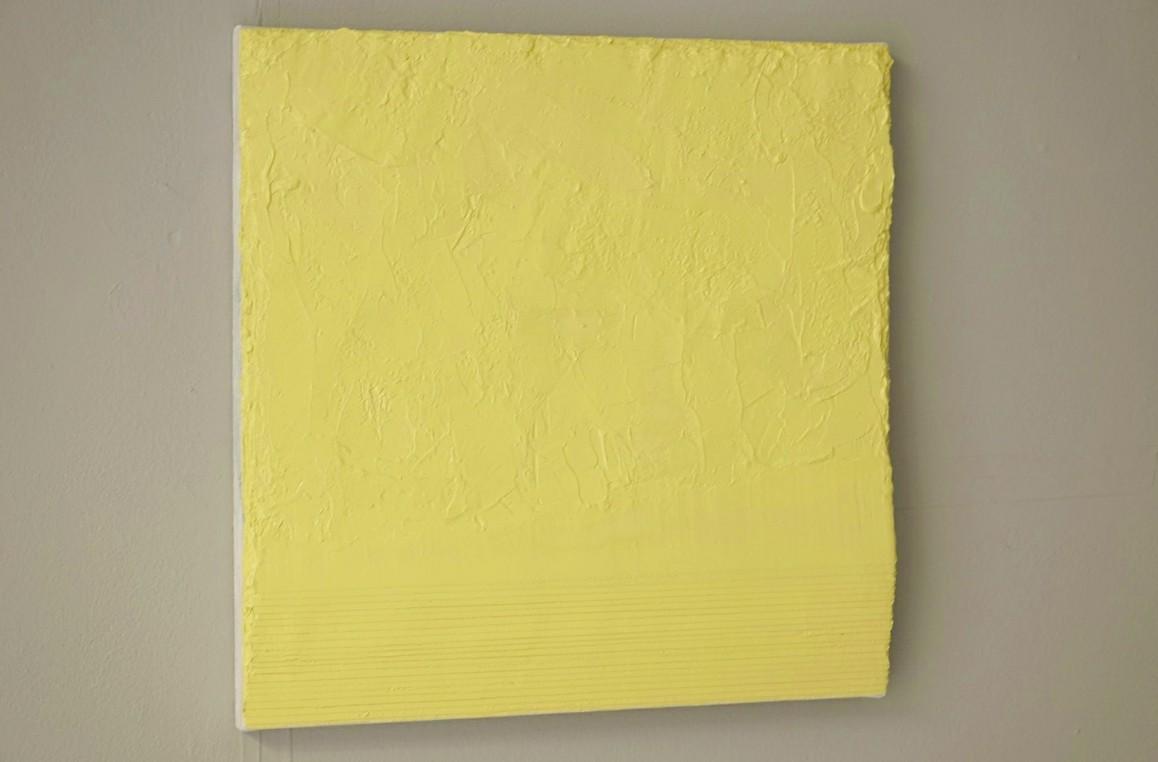 19.3.18 - 26.9.18, Öl/Lw./Holz, 50 x 50 cm
