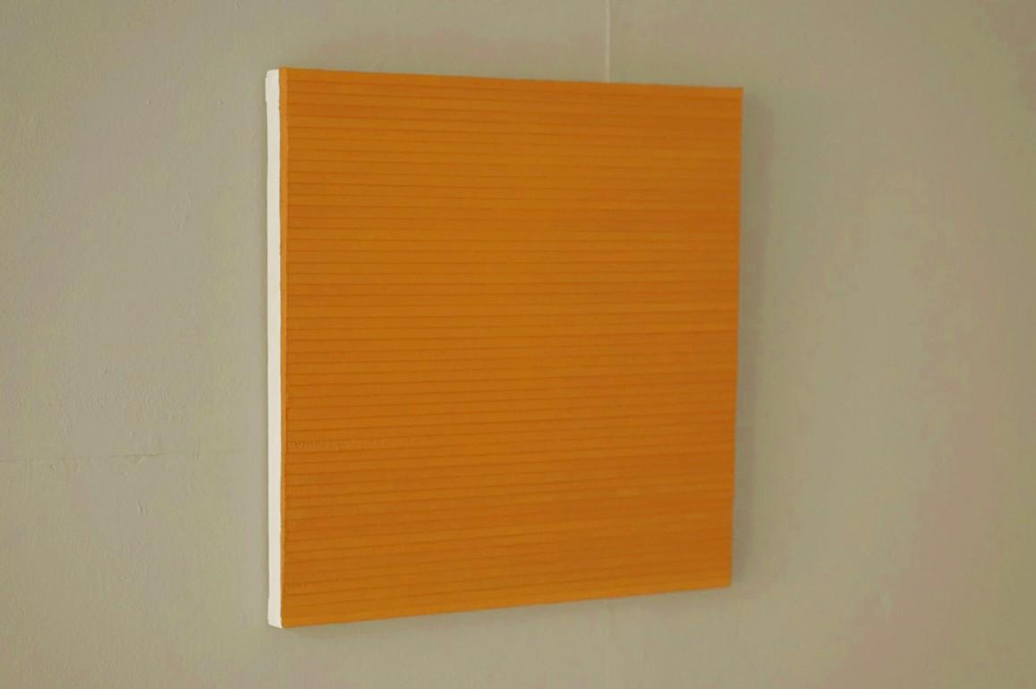 2.4.14 - 20.7.15, Öl/Lw./Holz, 50 x 50 cm