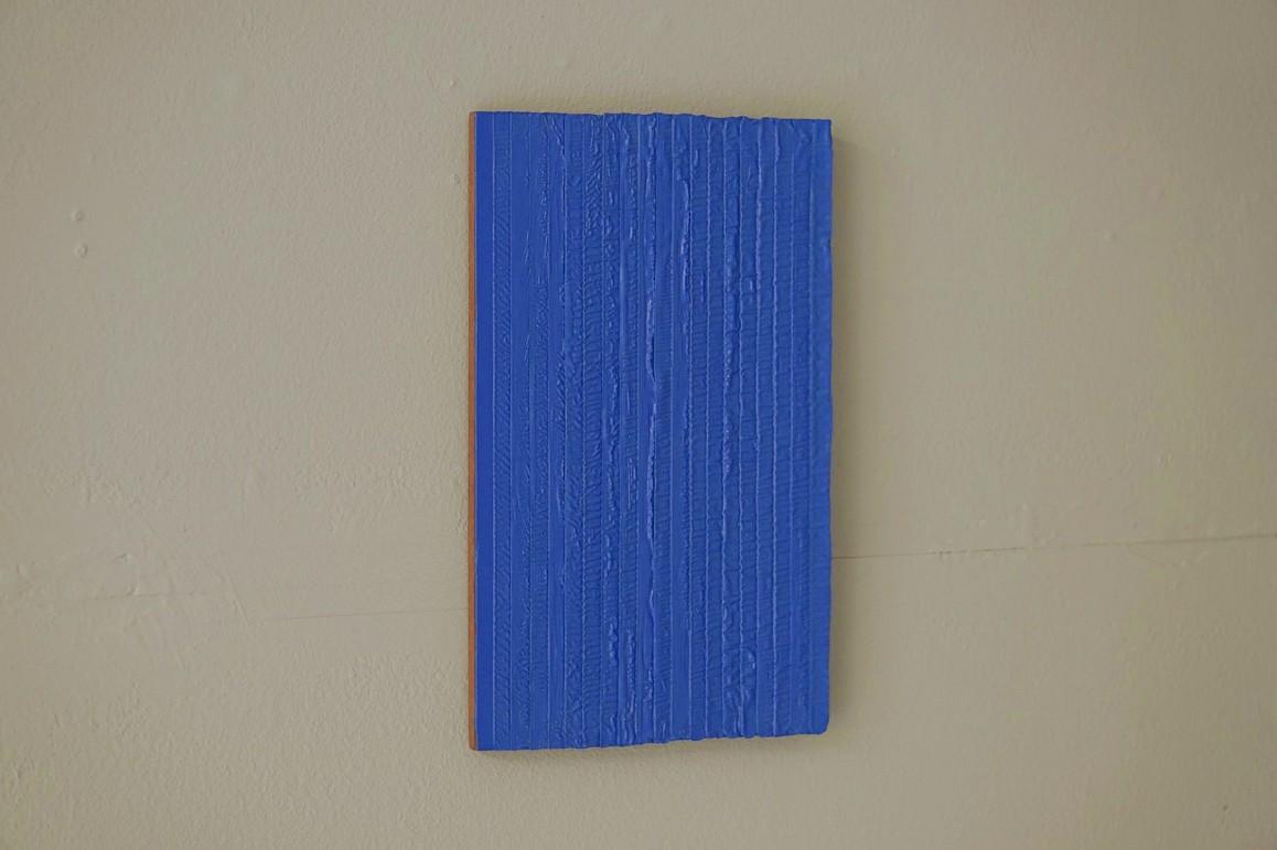 25.9.15 - 16.6.17, Öl/Lw./Holz, 20 x 33 cm