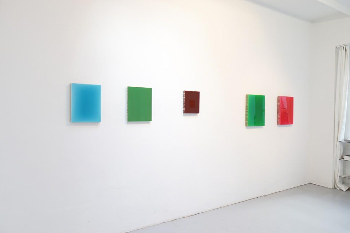 o.T. 2019, Acryl auf Leinwand, 40 x 30 cm / o.T. 2019, Acryl auf Leinwand, 40 x 30 cm / o.T. 2019, Acryl auf Leinwand, 30 x 24 cm / o.T. 2019, Acryl auf Leinwand, 50 x 40 cm / o.T. 2019, Acryl auf Leinwand, 50 x 40 cm