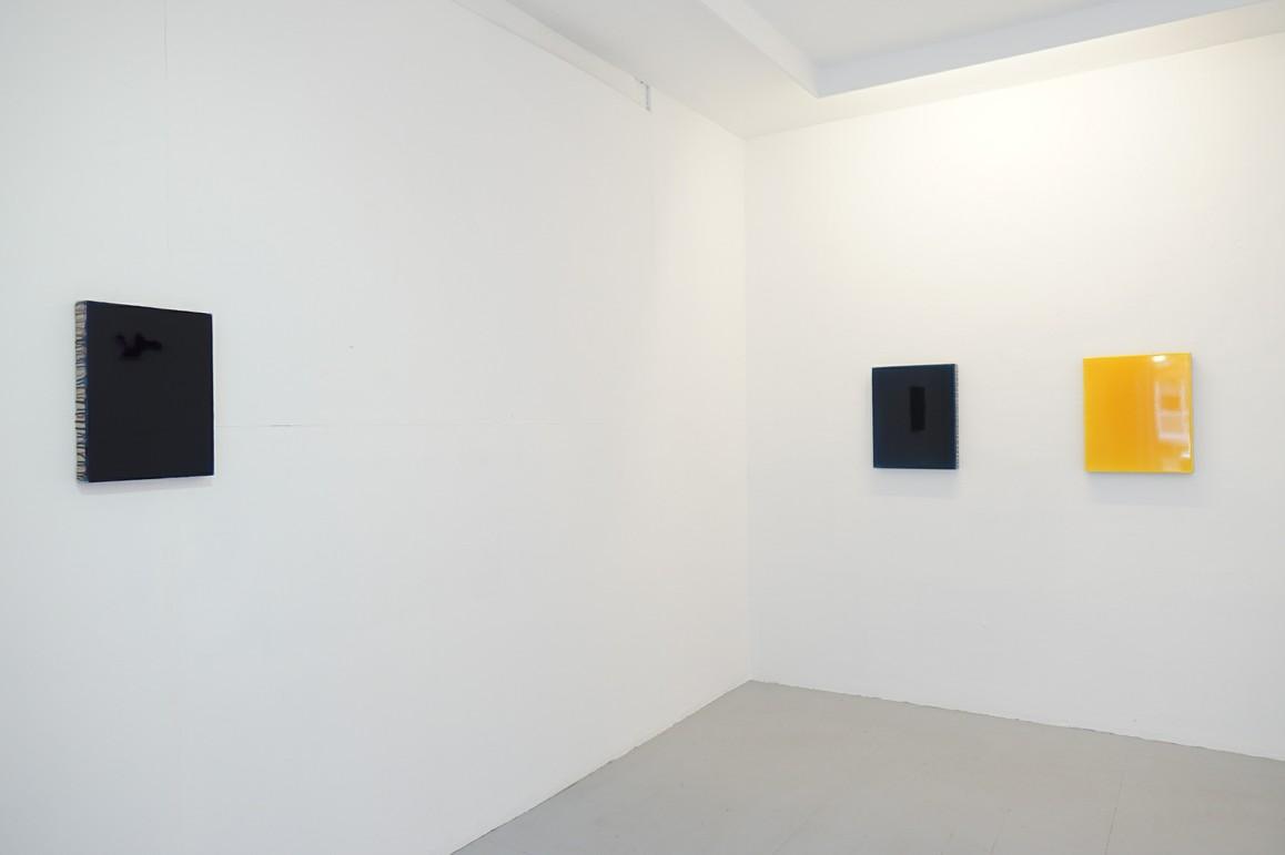 o.T. 2019, Acryl auf Leinwand, 40 x 30 cm / o.T. 2019, Acryl auf Leinwand, 50 x 40 cm / o.T. 2019, Acryl auf Leinwand, 50 x 40 cm