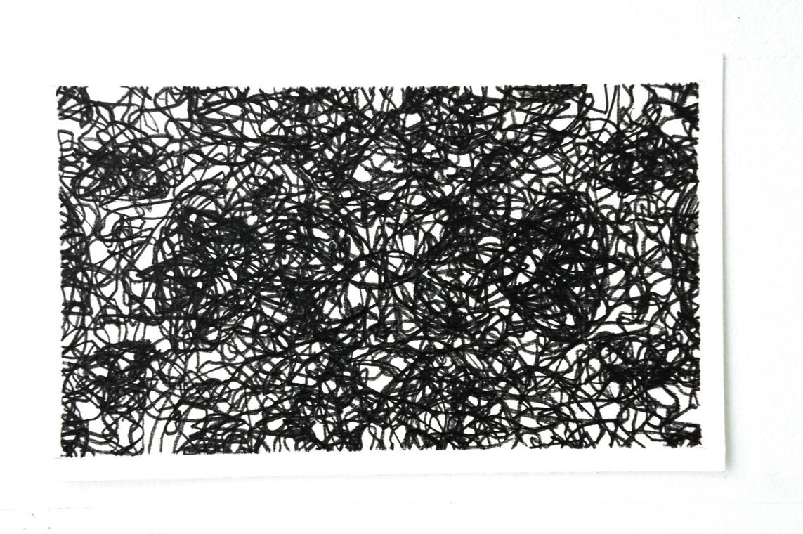 o.T. / Graphit auf Papier / 17 x 28 cm / 2005