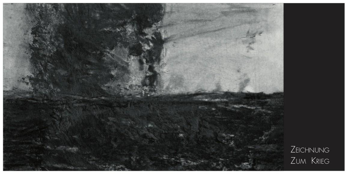 X22. Dieter Maertens: Zeichnung zum Krieg