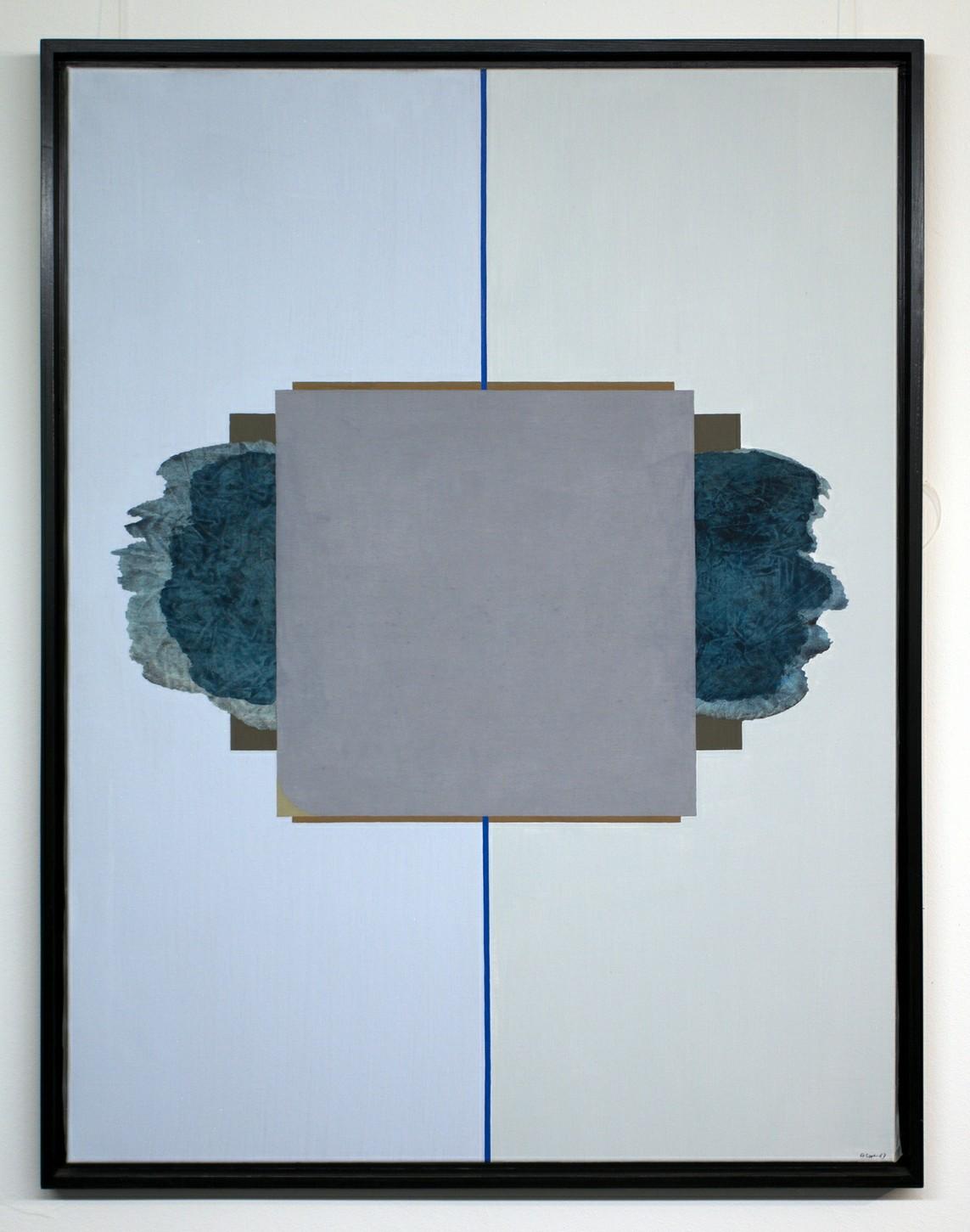 »HAUS (bedrückt)« Öl auf Leinwand, 116,5 x 89,5 cm, 1967