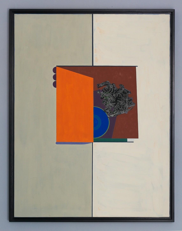 »HAUS« Öl auf Leinwand, 116,5 x 89,5 cm, 1967