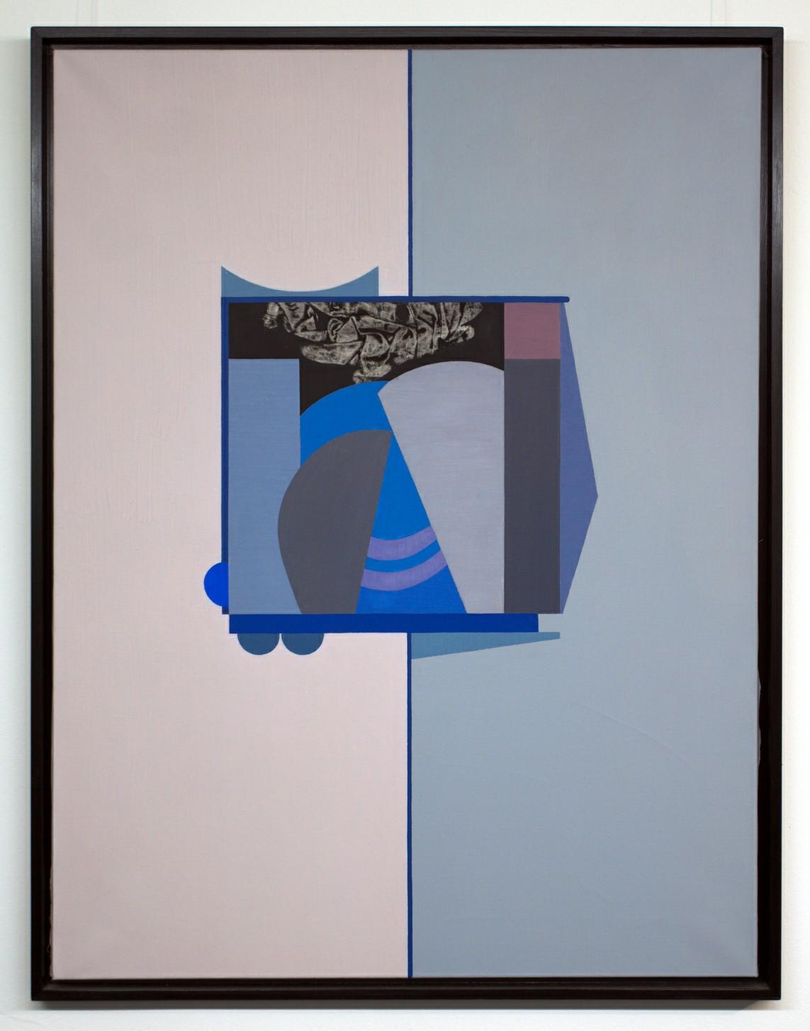»HAUS V.« Öl auf Leinwand, 116,5 x 89,5 cm, 1967