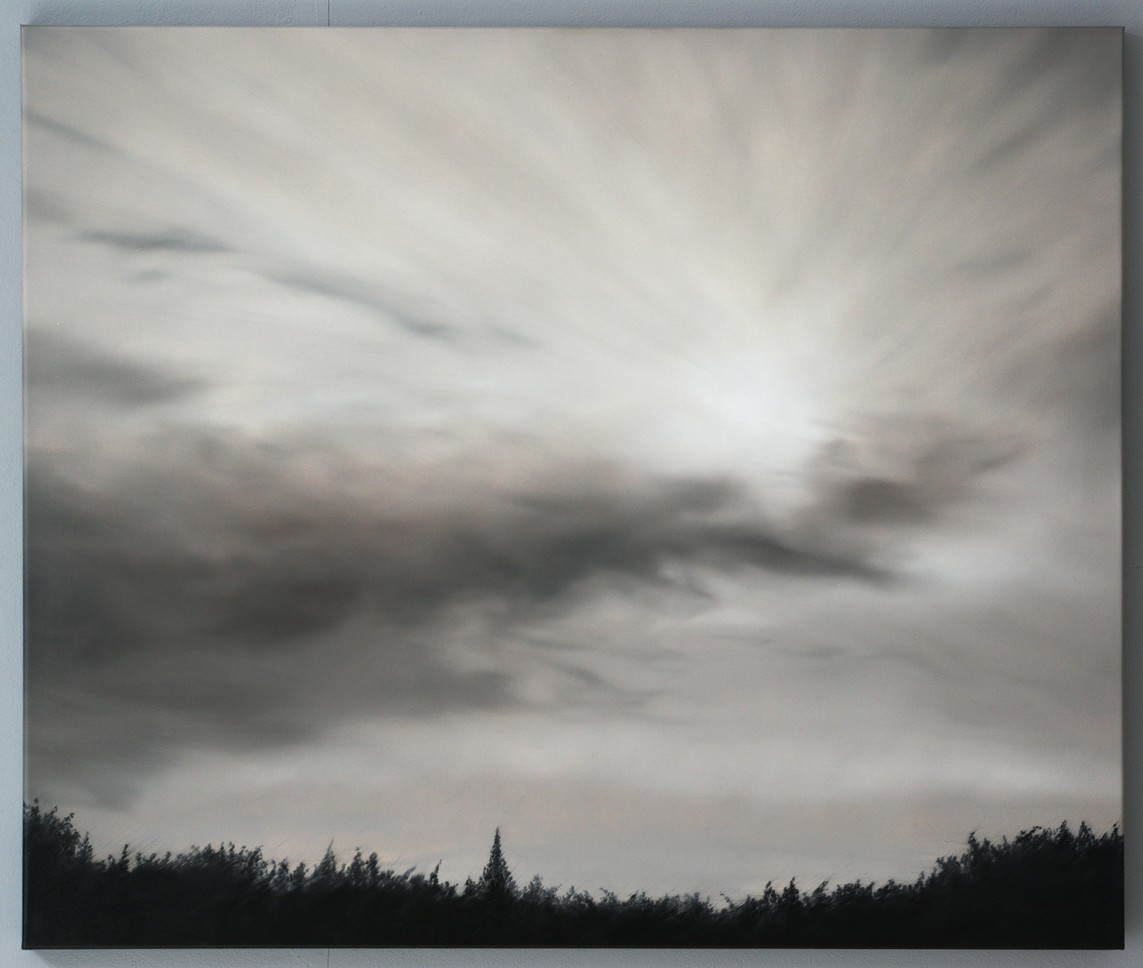David van der Post – Abend 2 / Öl auf Leinwand, 100 x 120 cm, 2012