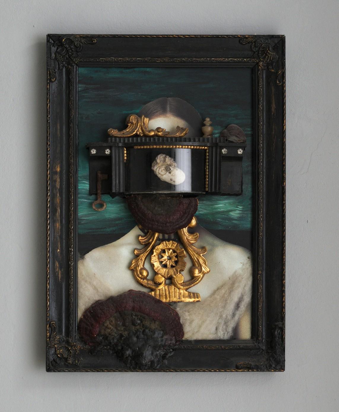 Doris Puchberger – Venus / Mixed Media, 59 x 41 ,5 x 6 cm, 2005