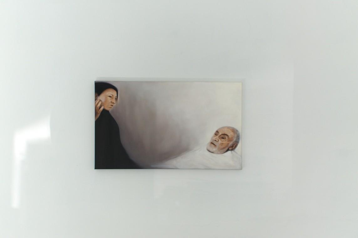 »Abschied« Öl auf Leinwand, 60 x 100 cm, 2016