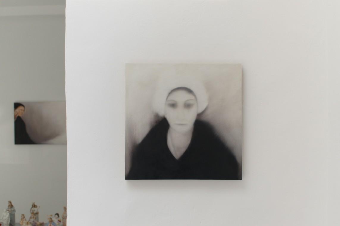 »Portrait« Öl auf MDF, 40 x 40 cm, 2016