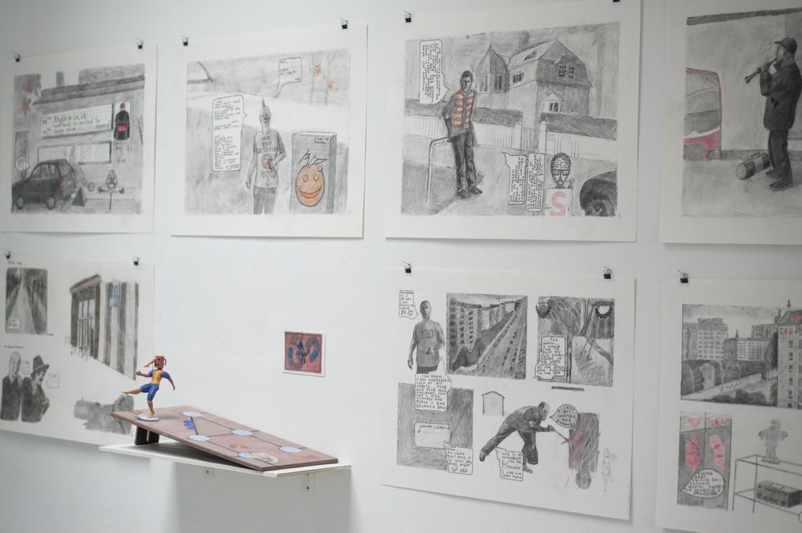 Kirti Ingerfurth: Ausstellungsansicht
