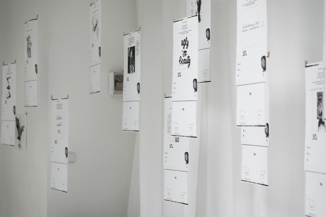 Kirti Ingerfurth: »Flugblätter« Fotokopien