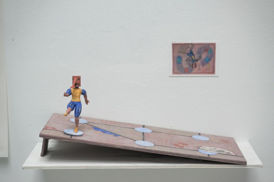 Kirti Ingerfurth: o.T., Mixed Media, ca. 17,5 x 27 x 57 cm