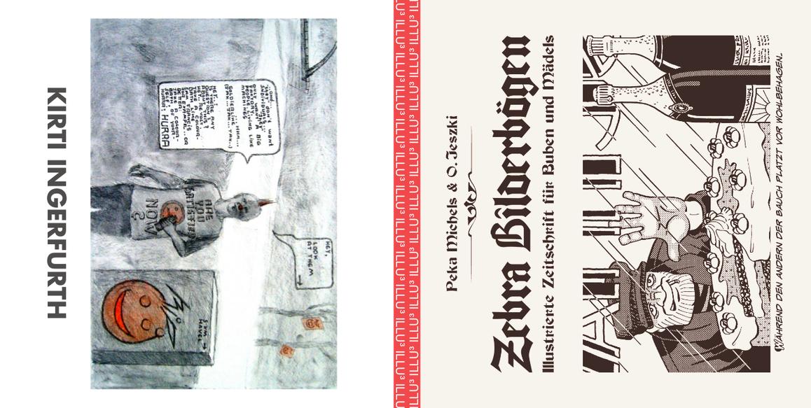 X37. Illu³: Zebra Bilderbögen + Kirti Ingerfurth