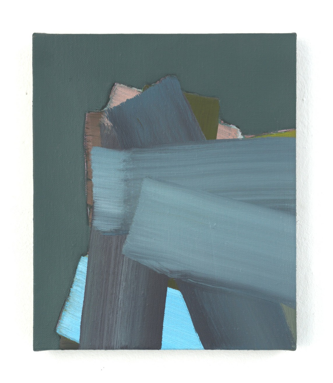 »Babel« 2016, Öl auf Leinwand, 30,5 x 25 cm