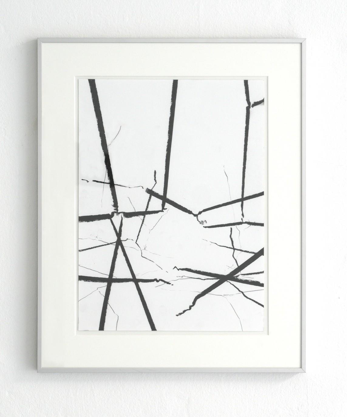 o.T., 2017, Mischtechik auf Papier, 38 x 28 cm