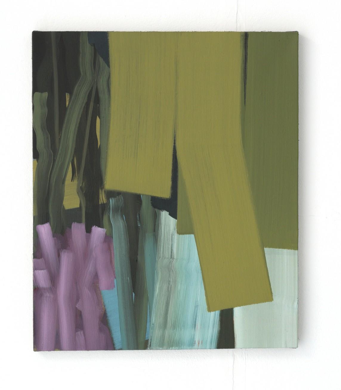 »Saoul« 2017, Öl auf Leinwand, 60 x 50 cm