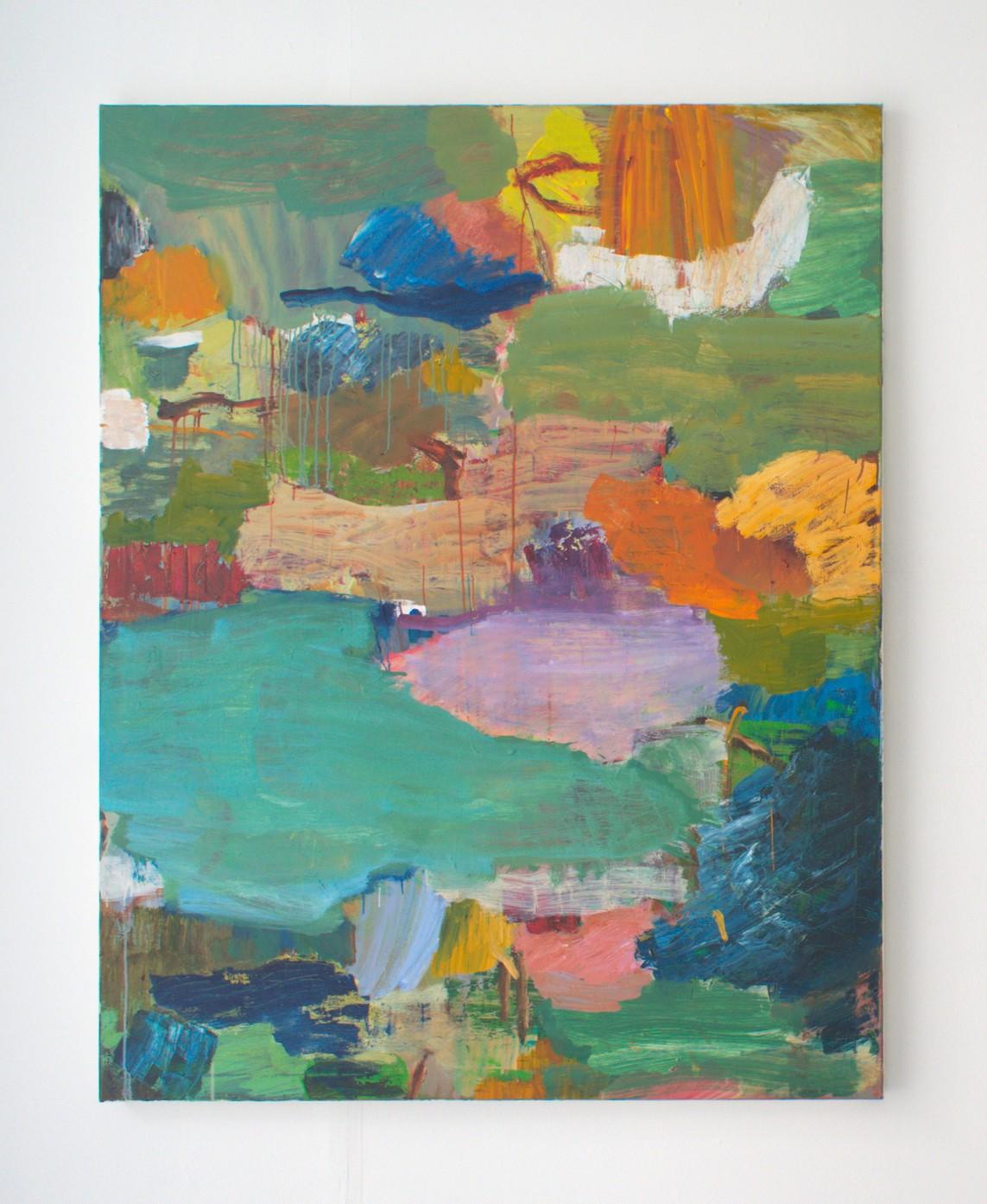 OT Nr. 03, 2018, Öl auf Leinwand, 150 x 120 cm