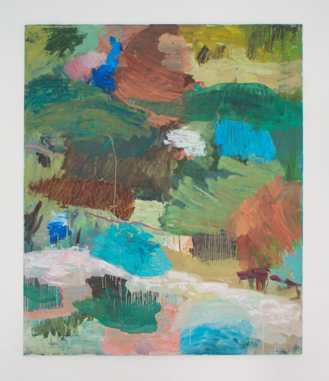 OT Nr. 26, 2016, Öl auf Leinwand, 200 x 170 cm