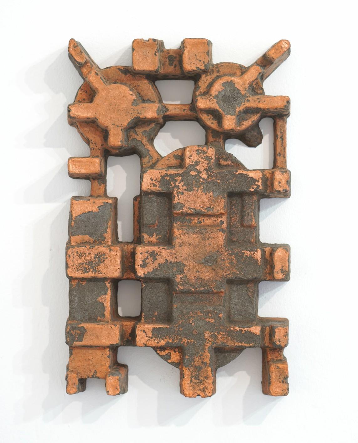 Umverpackung 57, 2019, Beton, Pigment, 34 x 54 x 8 cm