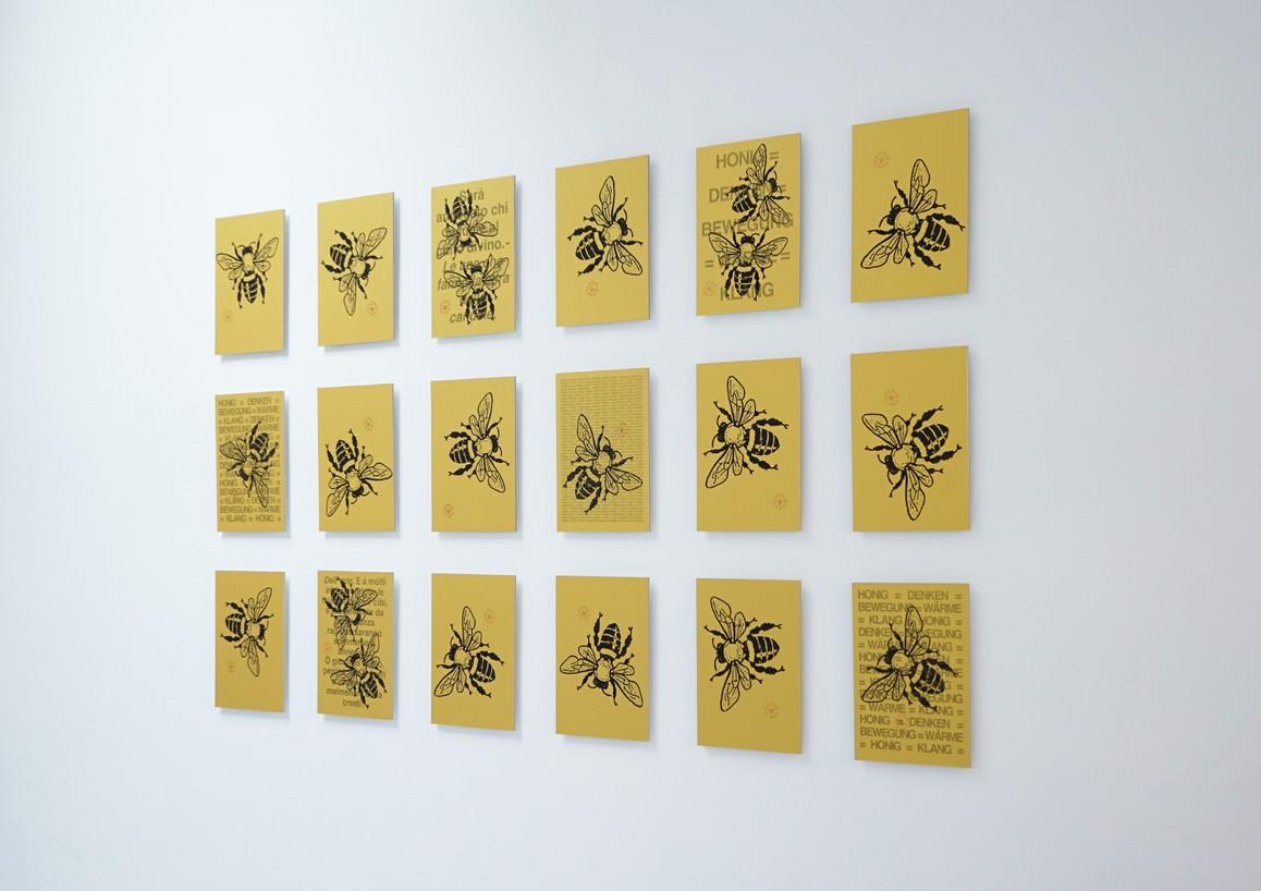 Edition »HONIGKLANG«, 18 teilig, je 10 Exemplare, 30 x 21 cm, Elektrofotografie auf Papier