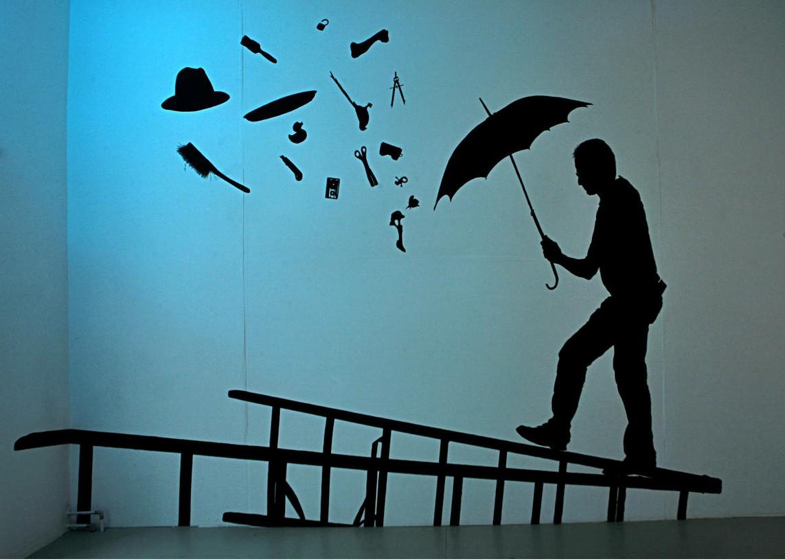 Der Suchende im Sturm