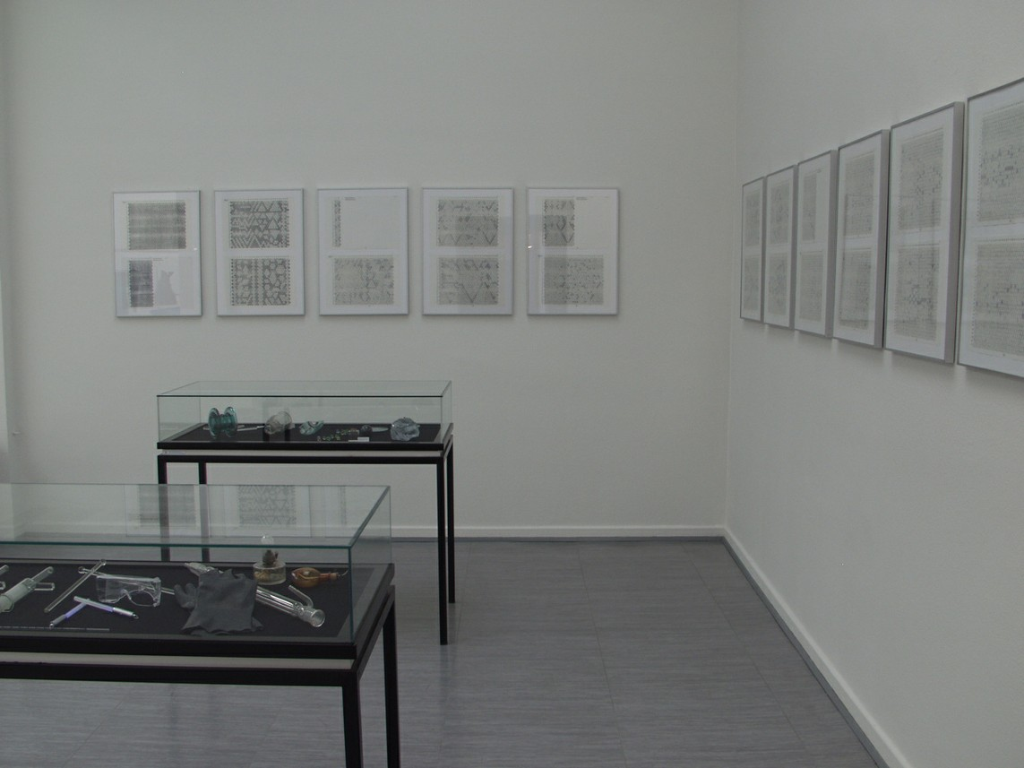 Vitrineninstallation, Leopod Hoesch Museum, Düren 2004