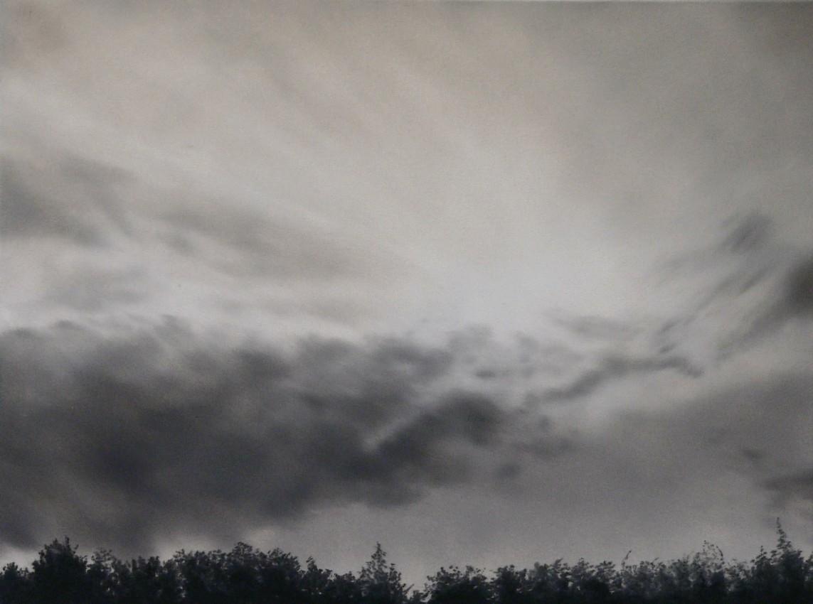 »Abend 1« 2007, Öl auf Leinwand, 70x60 cm