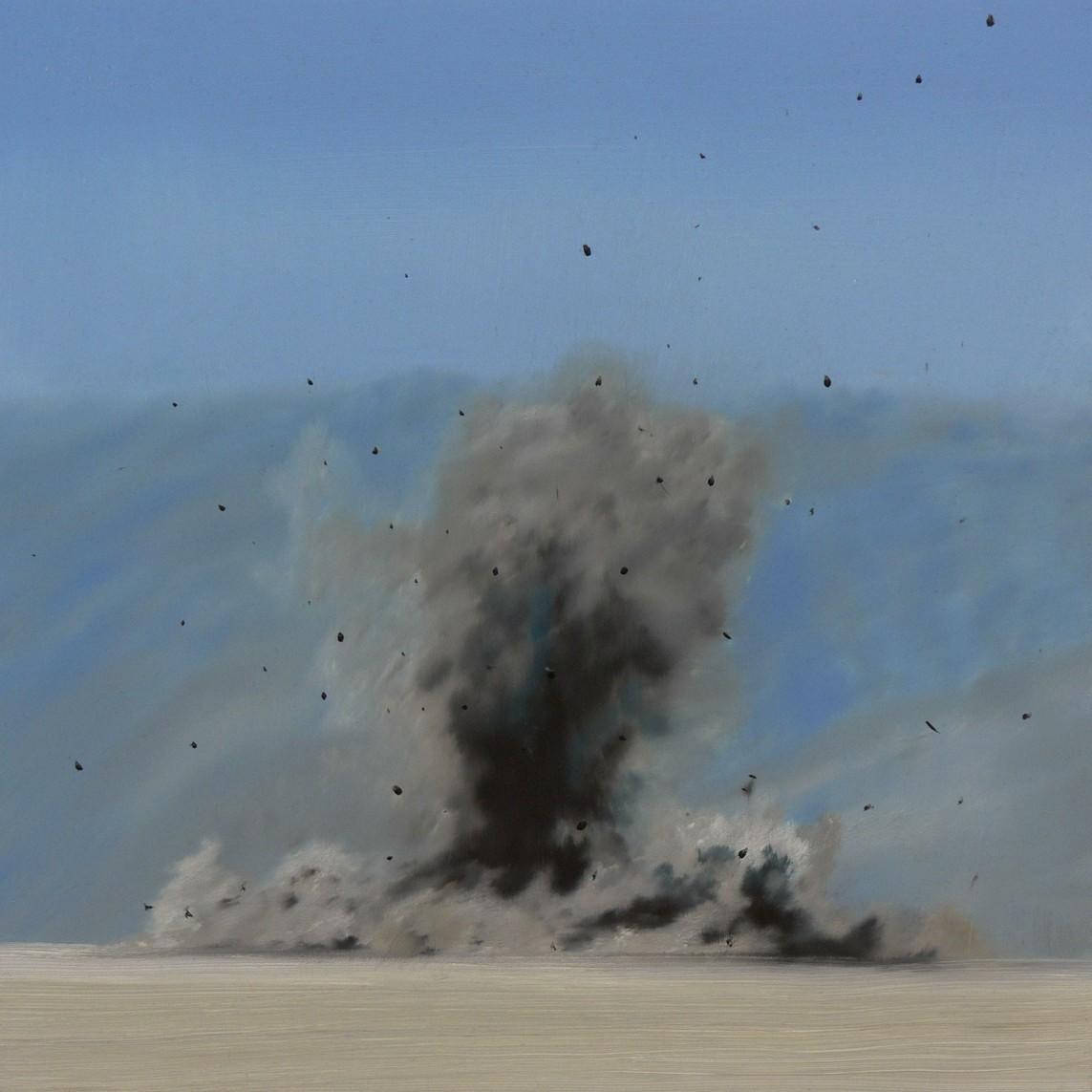 Granate // 2010, Öl auf mdf, 40x40 cm