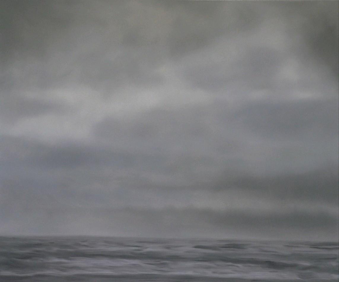 »Graue See« 2007, Öl auf Leinwand, 120x100 cm