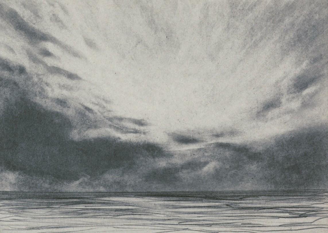 o.T., 2008, Graphit auf Papier, 21 x 30