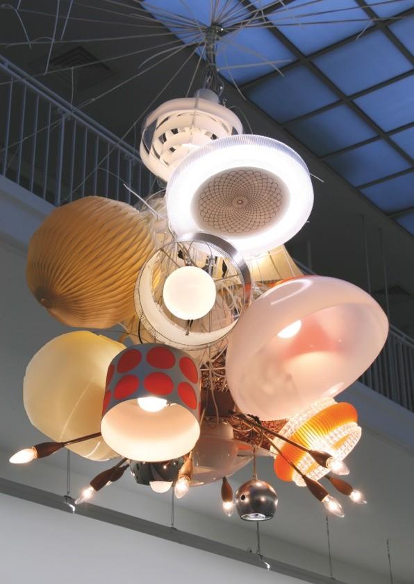 Lichtobjekt, Mixed Media, 2010