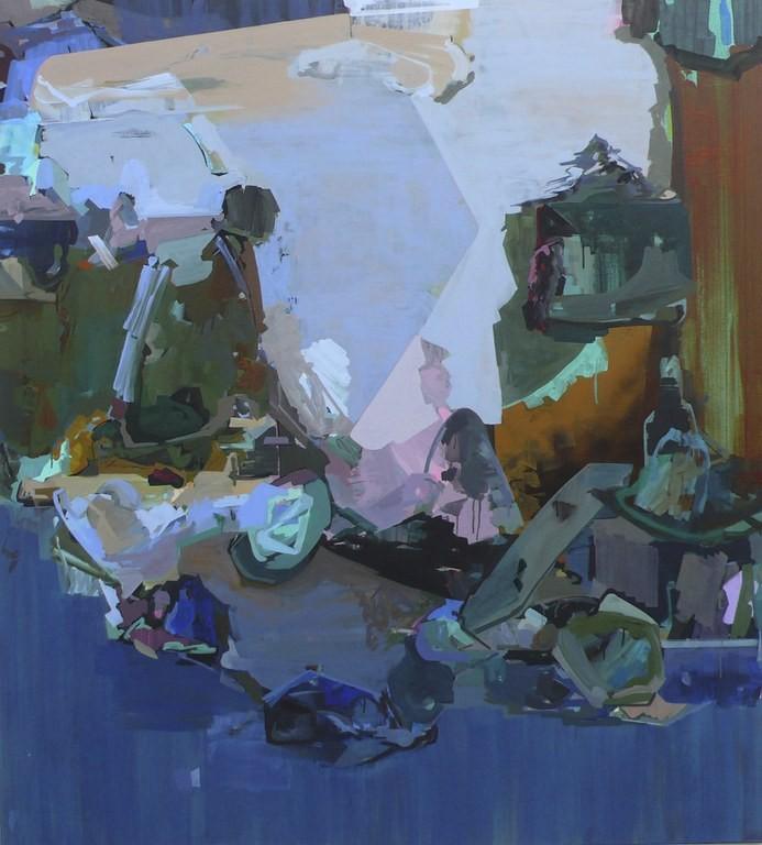 »Männer des Westens 1« 2011, Acryl auf Leinwand, 155 x 140 cm
