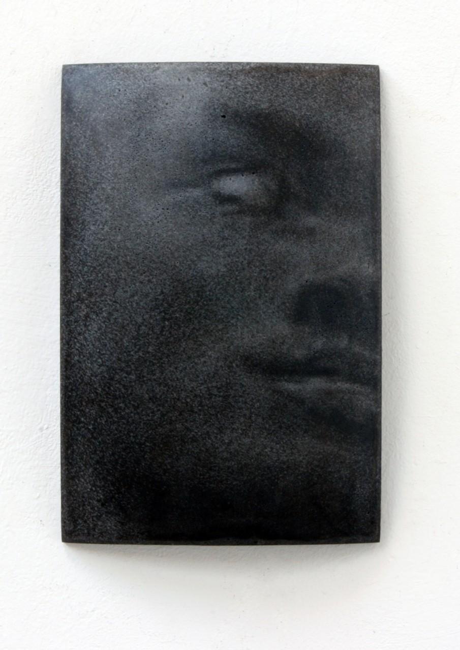 """Rom"", Beton / Gravur, 36 x 24 x 9 cm, 2014"