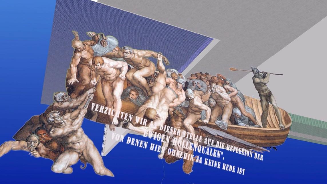 """""""Der Film zur Ausstellung"""", 3D Modellierung, Animation, 33 min., 2014"""