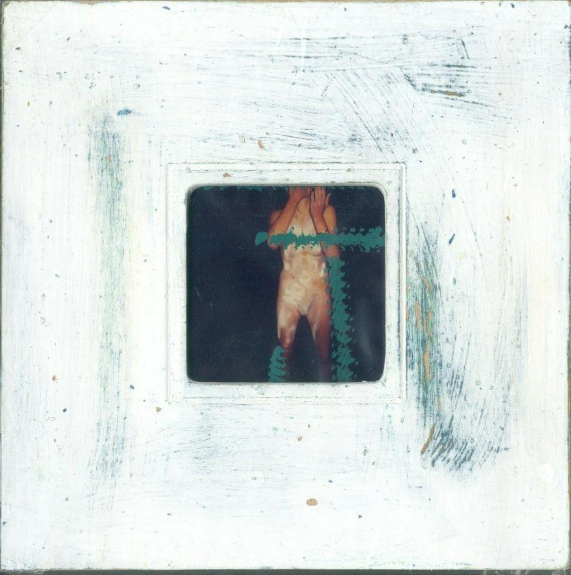 »lebegut12«, Polaroid, Mixed Media, aus der Serie 'Lebe gut, werde Künstler', 2000