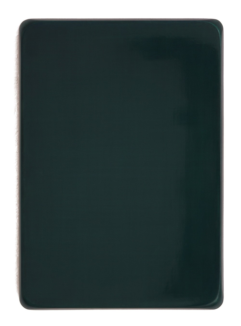 o.T. / Neutralgrau, Helioceolinblau, Heliotürkis, Chromoxidgrün feurig, Perlglanz Pyrisma grün, Aquarell auf Gips und Medium, 35 x 25 cm, 2013