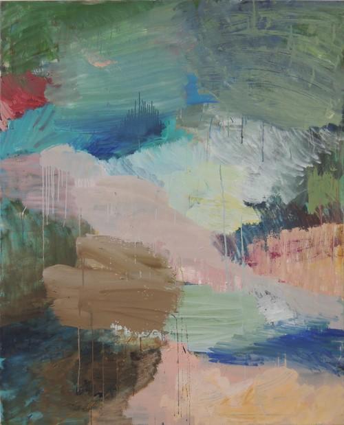 »Nr. 08, 2017« 150 × 100 cm, Acryl und Öl auf Leinwand