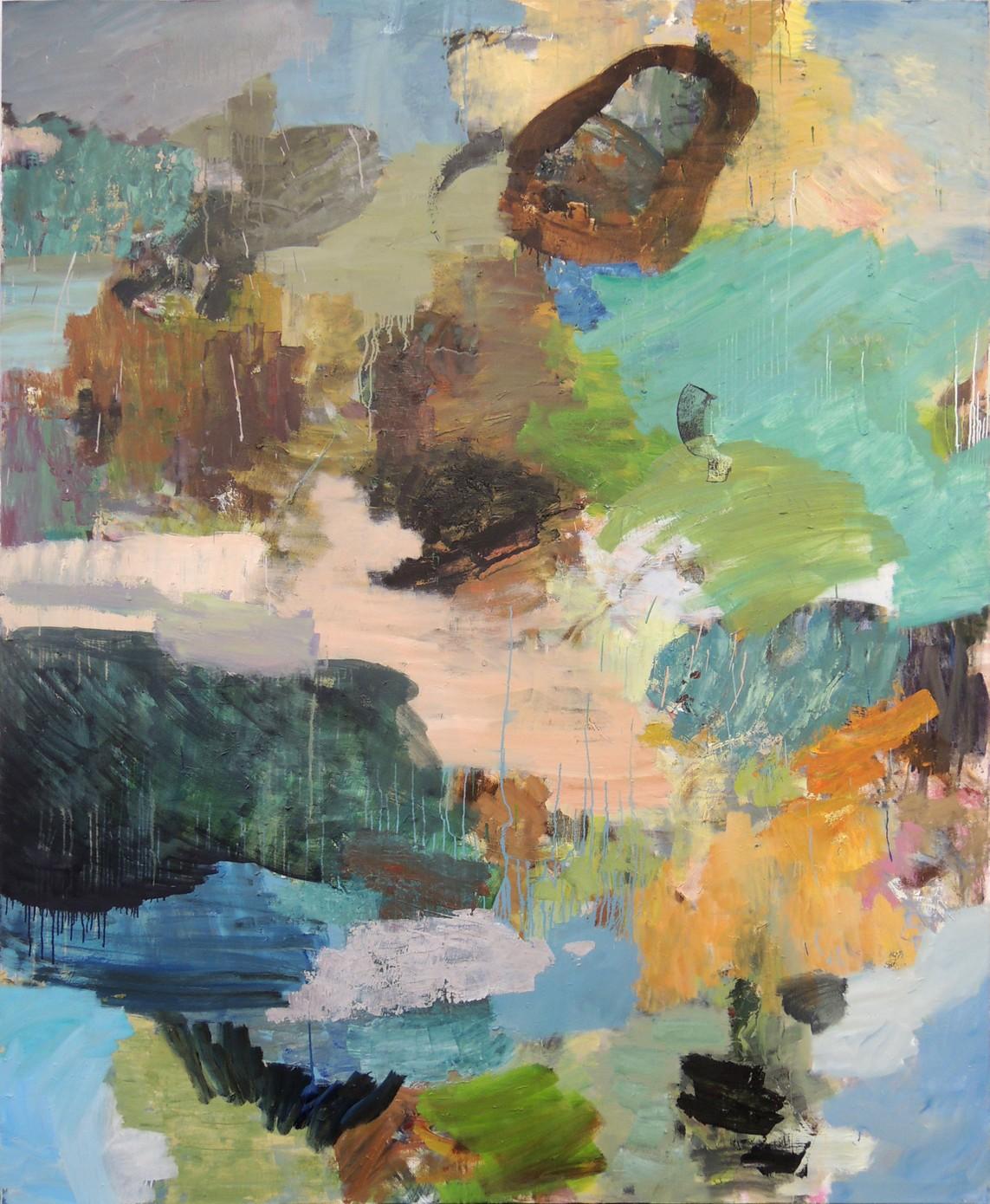 »Nr. 26, 2016« 220 × 180 cm, Öl auf Leinwand