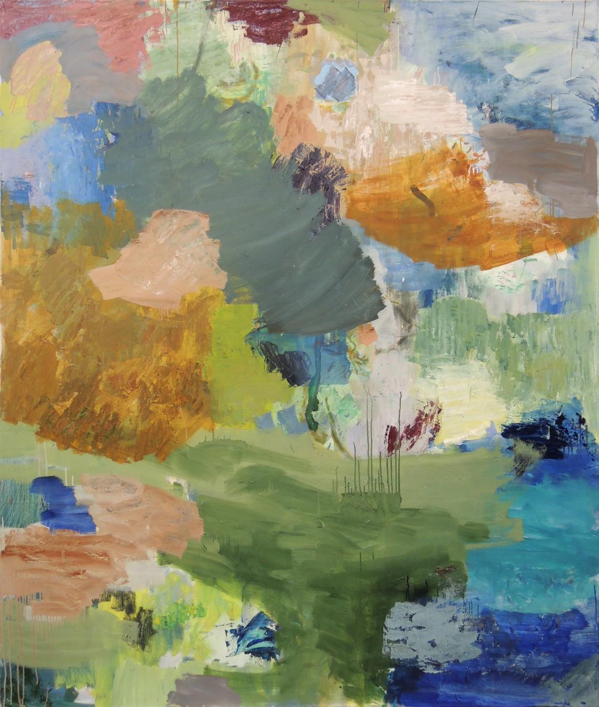 »Nr. 28, 2016« 200 × 170 cm, Öl auf Leinwand